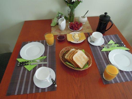 Krisjanis & Gertrude : ontbijt