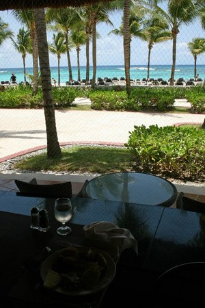Barcelo Maya Tropical: View from Palmeras Grill