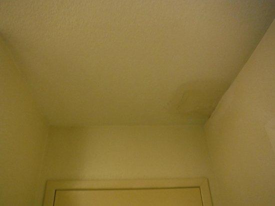 Ramada by Wyndham Groton: gross ceiling!
