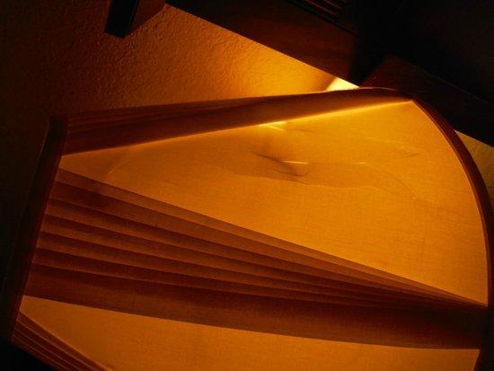 Ramada by Wyndham Groton: trashed lampshade