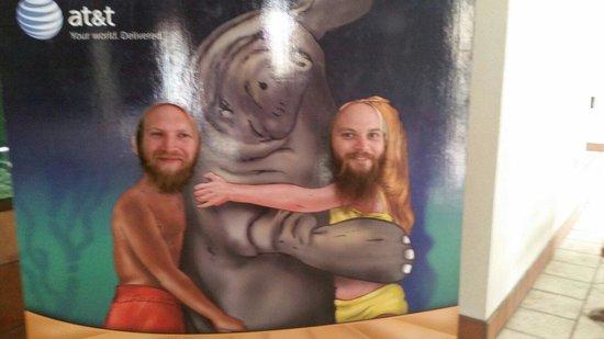 South Florida Museum and Bishop Planetarium: Having fun with Snooty