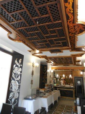 Sacristia de Santa Ana: breakfast room