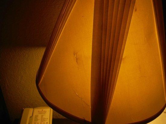 Ramada Groton: trashed lampshade
