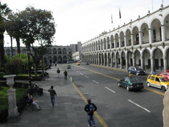 BusTour: Plaza de Armas Arequipa, desde bus panoramico
