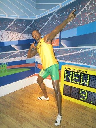 Madame Tussauds London: Usain Bolt