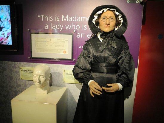 Madame Tussauds London: Madame herself