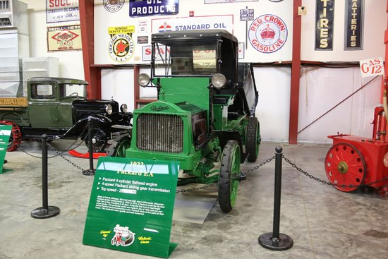 Iowa 80 Trucking Museum: selected from the many trucks on display
