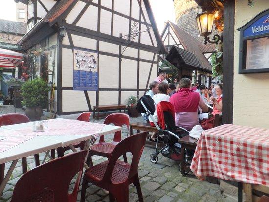 Frankische Weinstube im Handwerkerhof: Charming location