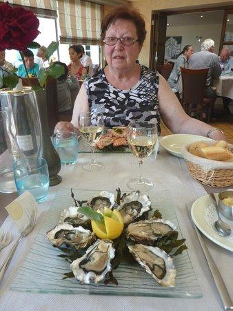 Hotel & Restaurant Belle Vue : Zeer lekkere keuken...