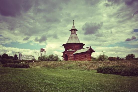 Museo y Reserva de Historia y Arquitectura de Kolomenskoye: Церквушка