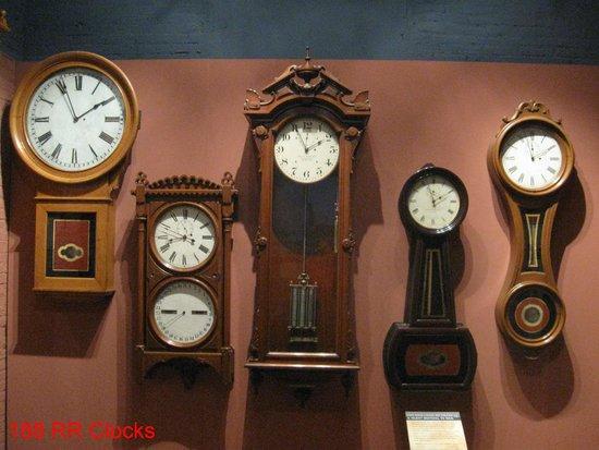 Baltimore and Ohio Railroad Museum: Fine Collection of Railway Clocks
