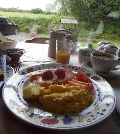 Fern Rock Bed & Breakfast: breakfast