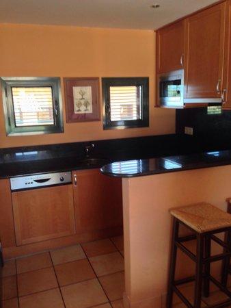 Apartamentos Suites Vila Birdie: La cuisine américaine