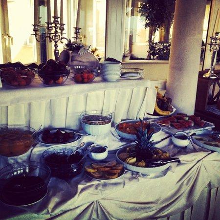 Grand Hotel Ortigia: Frutta fresca