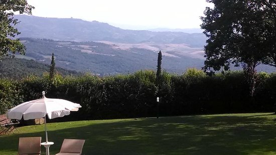 Tenuta Quadrifoglio: View from our window