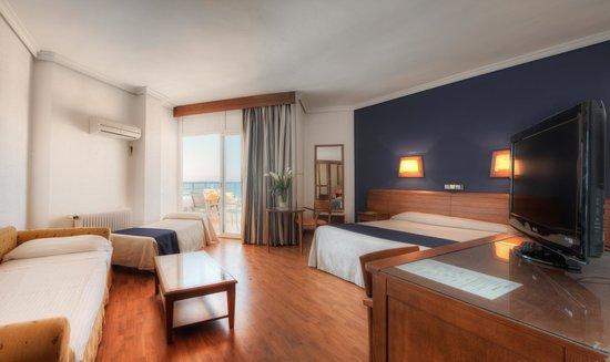 Hotel Puertobahía & Spa: Habitación Familiar Vista Mar