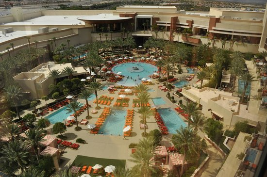 Red Rock Resort Spa The Pool At