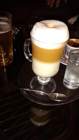 Sealight Resort Hotel: lovely coffee's in the hotel