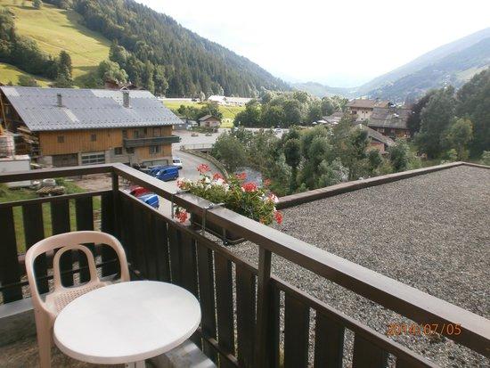 Hotel les Glaieuls : vue du balcon