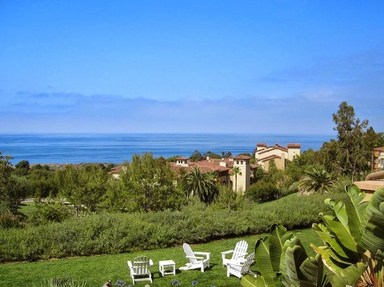 Marriott's Newport Coast Villas: View from the room balcony.