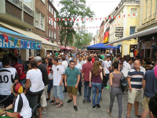 Altstadt: World cup 2014- Germany vs. France Public view