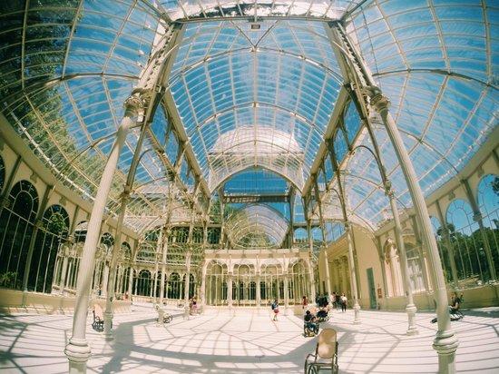 Palacio de Crsital Parque del Retiro.