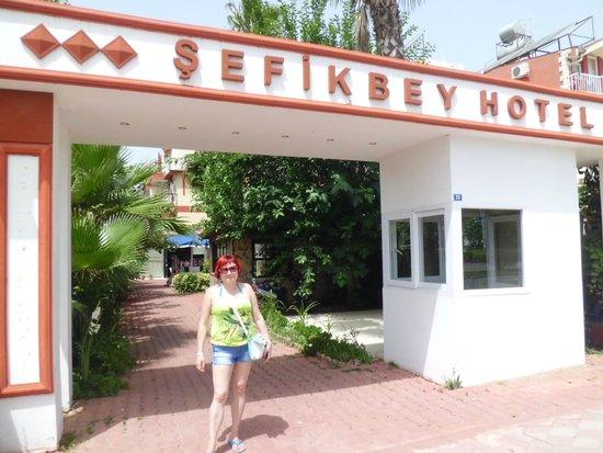 Sefikbey Hotel : Перед отелем