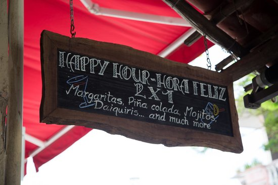 Carboncitos: Yes, there is happy hour