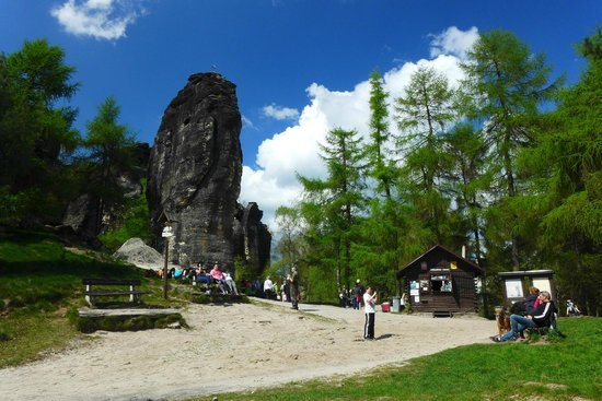 Bohemian Switzerland National Park: Tisa rocks