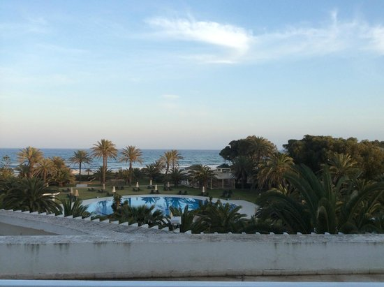 Hotel Palace Oceana Hammamet: view from our room