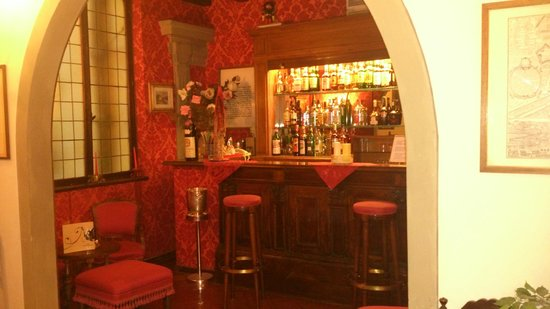 Hotel Monna Lisa: The bar