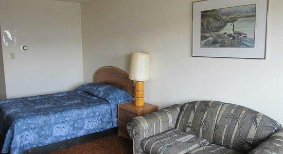 Taylor, Canada : Single Bed room