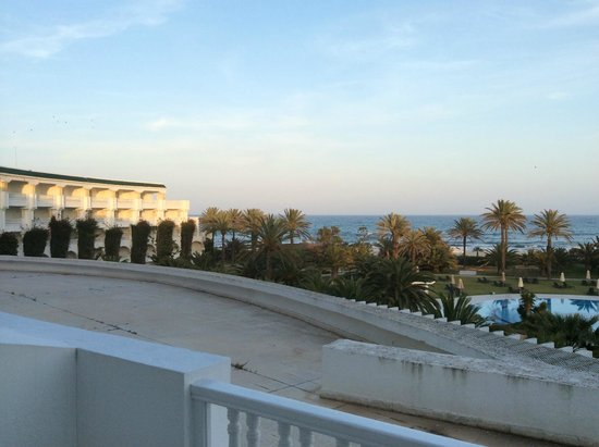 Hotel Oceana Hammamet : view from our room