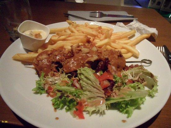 Leuk: Een van de menu's