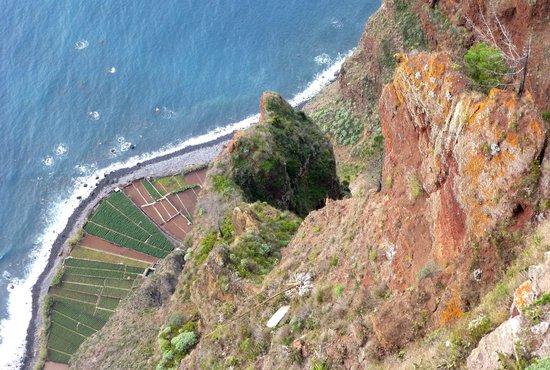 Cabo Girao: der Blick nach unten