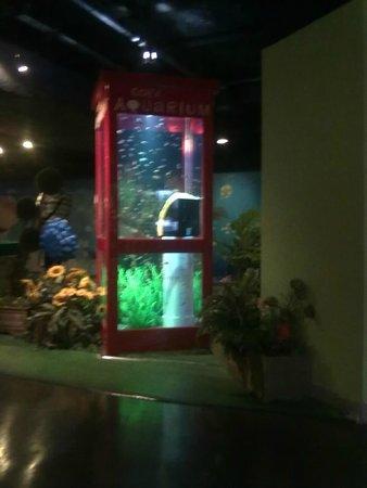 Coex Aquarium: Аквариум в стиле телефонной будки