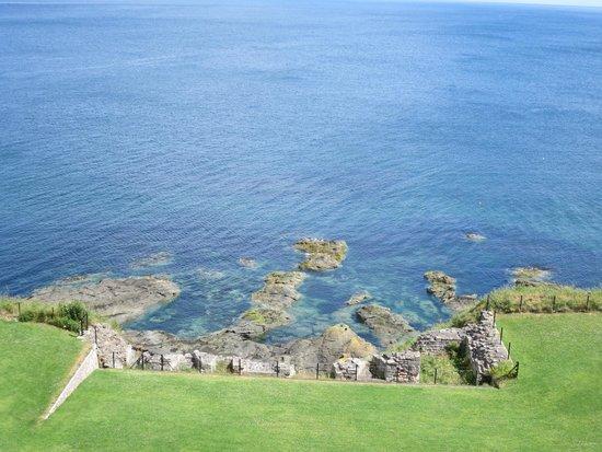 Tantallon Castle: North Sea