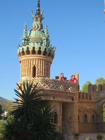 Castillo de Colomares: La torre que más me gustó