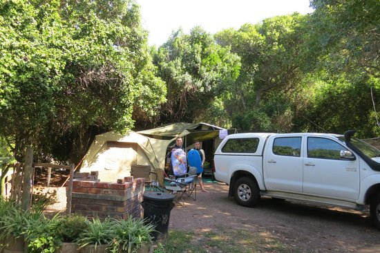 Arch Rock Seaside Accommodation : Campsite