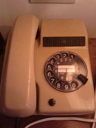 Hotel Isola Bella: Telefono della stanza