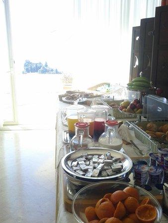 Hotel Isola Bella : colazione controluce