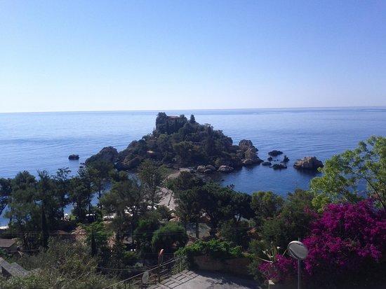 Hotel Isola Bella: vista dalla terrazza per la colazione