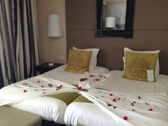 Hotel Palace Oceana Hammamet: our bed