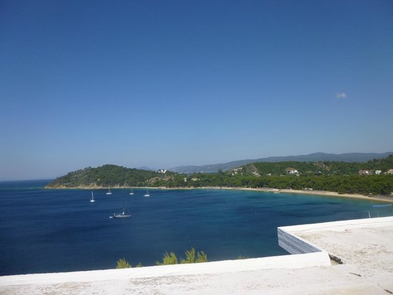 Skiathos Palace Hotel : View from pool area