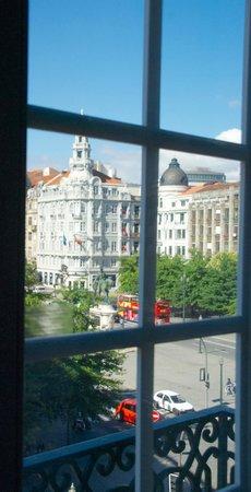 InterContinental Porto Palacio das Cardosas: Av Aliados desde la Habitación