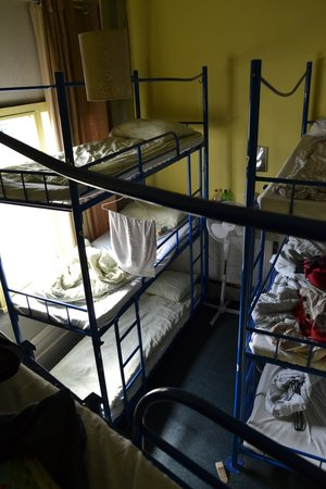 Arsenal Tavern: A really nice bed up high