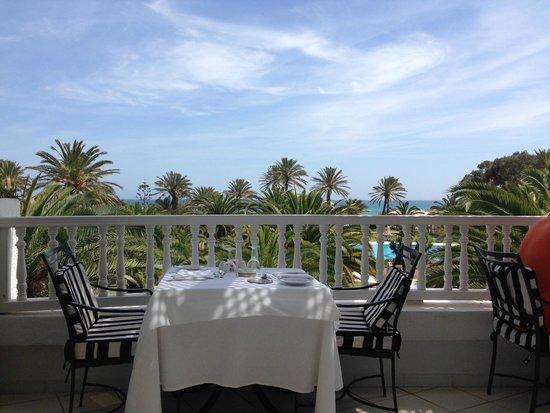 Hotel Palace Oceana Hammamet: outdoor dining