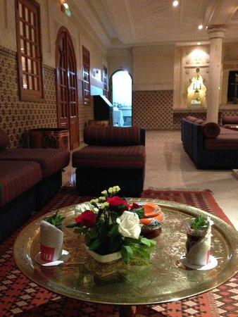 Hotel Palace Oceana: Moorish café