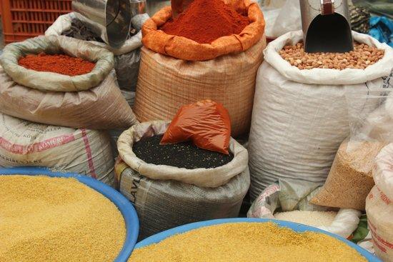 Fethiye Market: Spices galore!