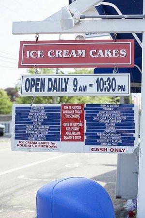 Four Seas Ice Cream: Sign